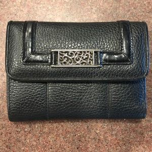 Brighton pebbled leather wallet